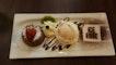 Choco Lava Cake With Gelato Ice Cream