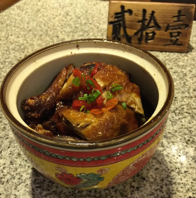 Palace Chicken With Pickled Chilli