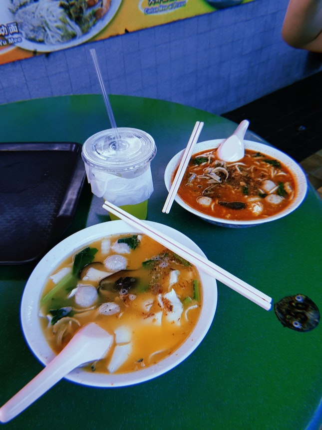 Hot And Spicy Ban Mian [$4]