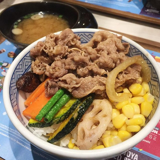 The premium side of Yoshinoya?