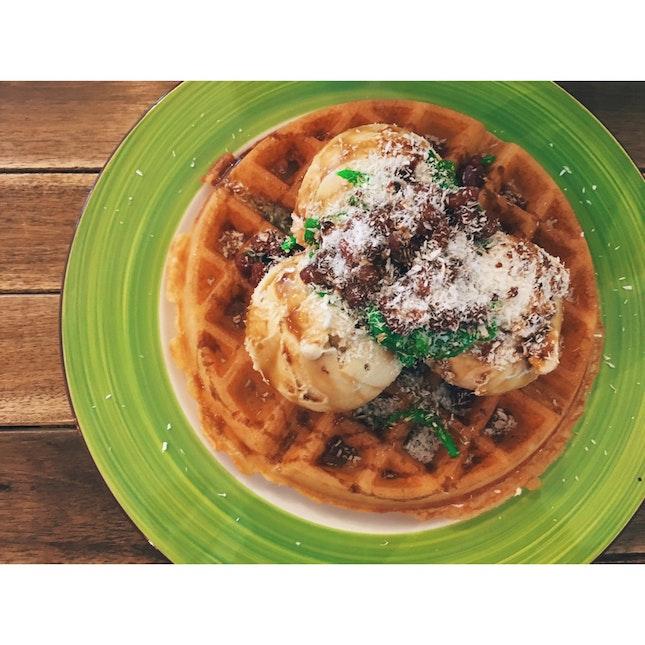 Chendol Waffle