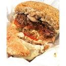 tbb swiss mushroom🍔 #burger#swissmushroomburger#americanfood#singapore#sgfood#burpple#