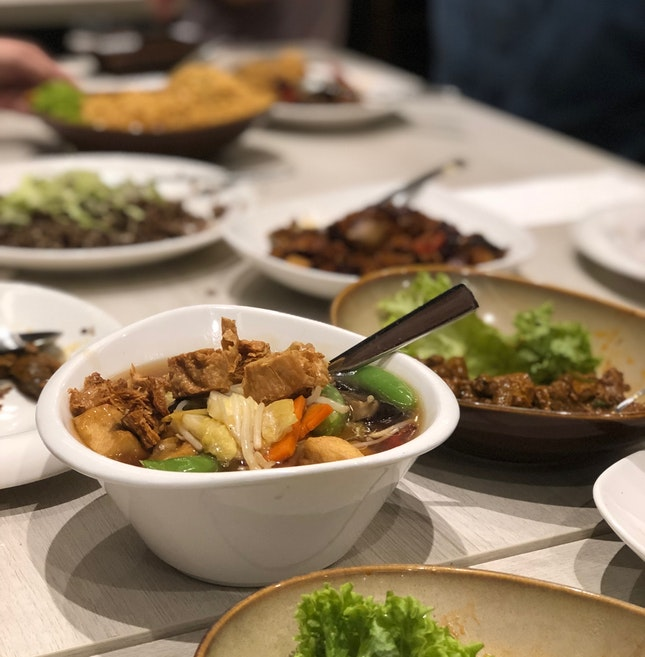 Vegetarian Peranakan Food