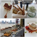 #yummy #sgfoodies #sgfood #businesslunch #burpplesg #burpple #birthdaymeal #lighthouse #fullerton $39++ two course or $49++ 3 course business lunch with a view.Free flow antipasti spread