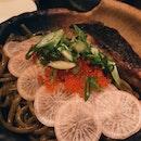 impressive seabass pasta