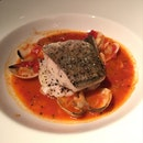 Sea Bass Stewed