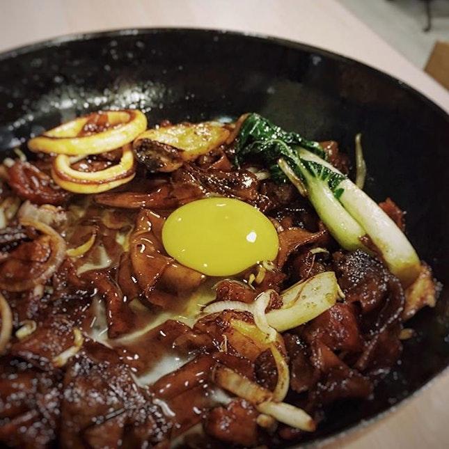 moonlight hor fun 🌙, such good wok-hei!
