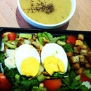 Healthy Eating- Salad Soup Set