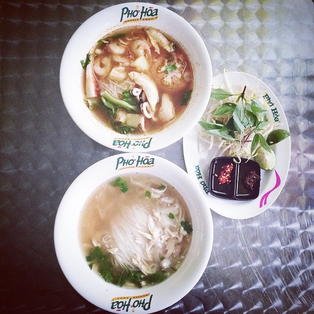 Hot Soupy Pho for you on a raining day like this?
