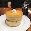 double soufflé pancakes — shared this w JK as our dessert after dinner ystd.