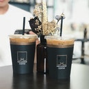 iced latte — jk and i unanimously agreed this is one of the BEST coffee places in sg.