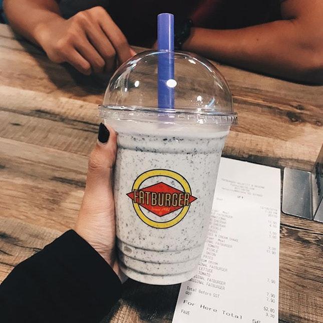 oreo milkshake!!!!