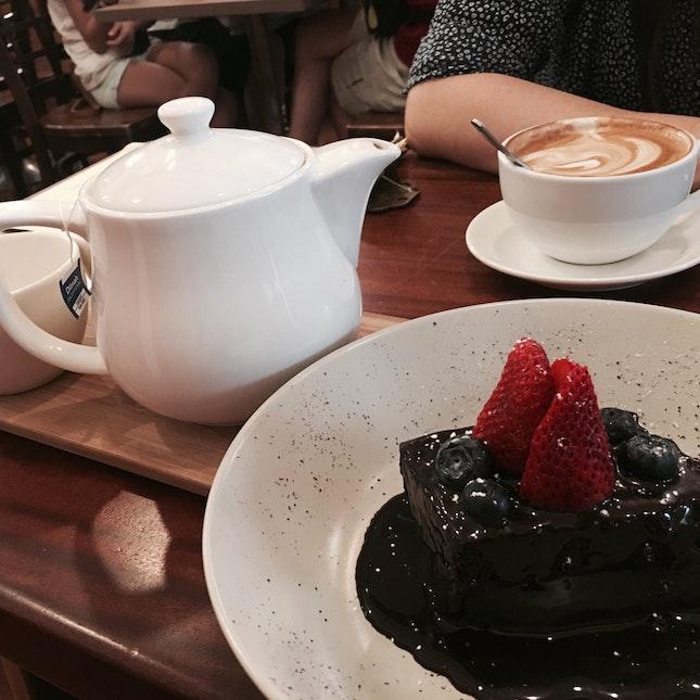 Chocolat Fudge cake