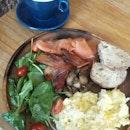Enchanted Breakfast w Hot Latte