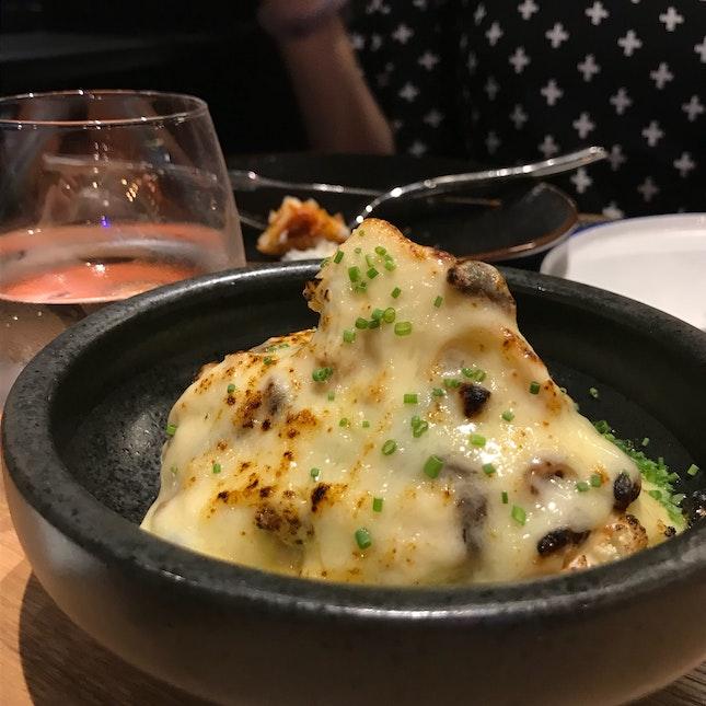 Fried Cauliflower With Gruyere Cheese And Longan ($8)