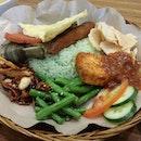 Vegetarian nasi lemak!