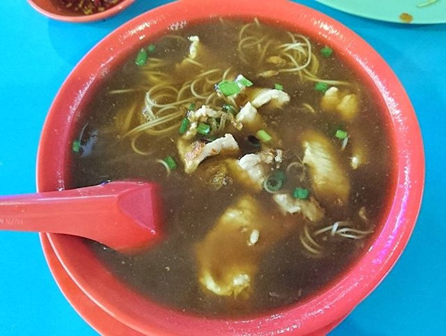 The famous Seng Kee Kidney Mee Sua.