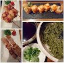 Japanese for dinner.