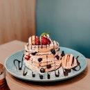Strawberry & Mixed Berries Pancake