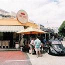 A vintage cafe at yio chu kang road.