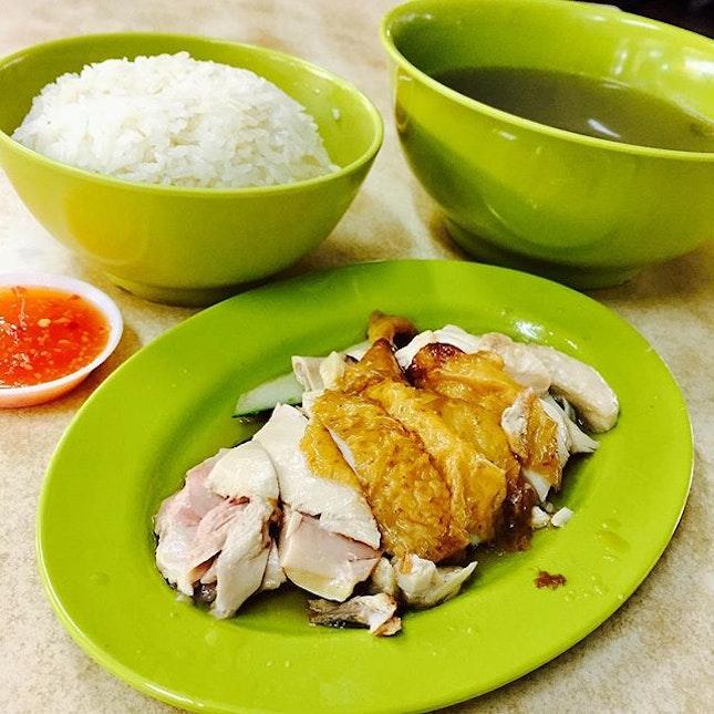 Super Shiok Chicken rice!