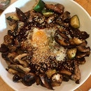 Mushroom risotto ($19.50).