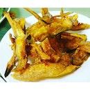 Deep fried crispy fish slices !