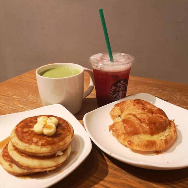 Pancake and Rosemary Chicken Crossaint
