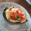 Eggplant With Hummus