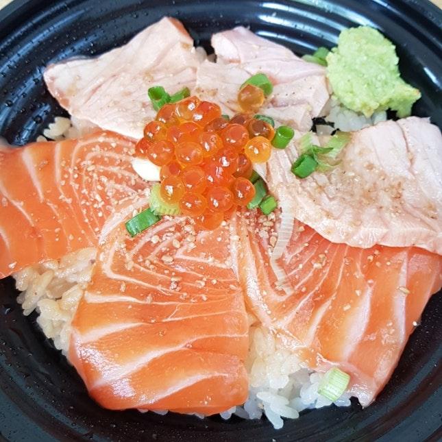 Aburi Salmon Don [$16.80]