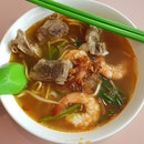 Prawn & Pork Ribs Noodles [$5]