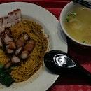 Roasted Pork & Char Siew Noodles [$4.80]