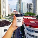 It's nice to know tt @toastboxsg appreciates their customers by rewarding them with free coffee (yes i got this for free this morning) ✌☕ .