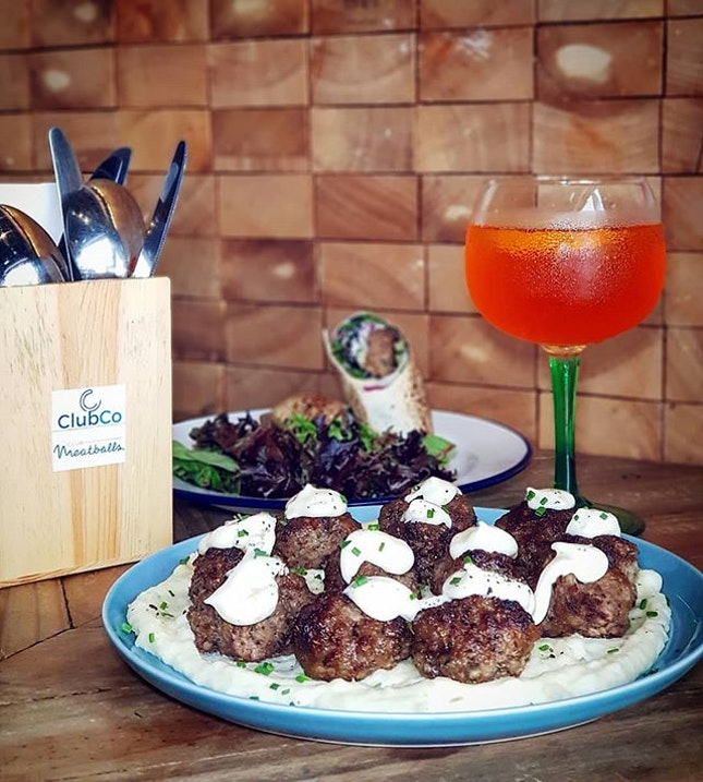 Meatballs with alcohol?