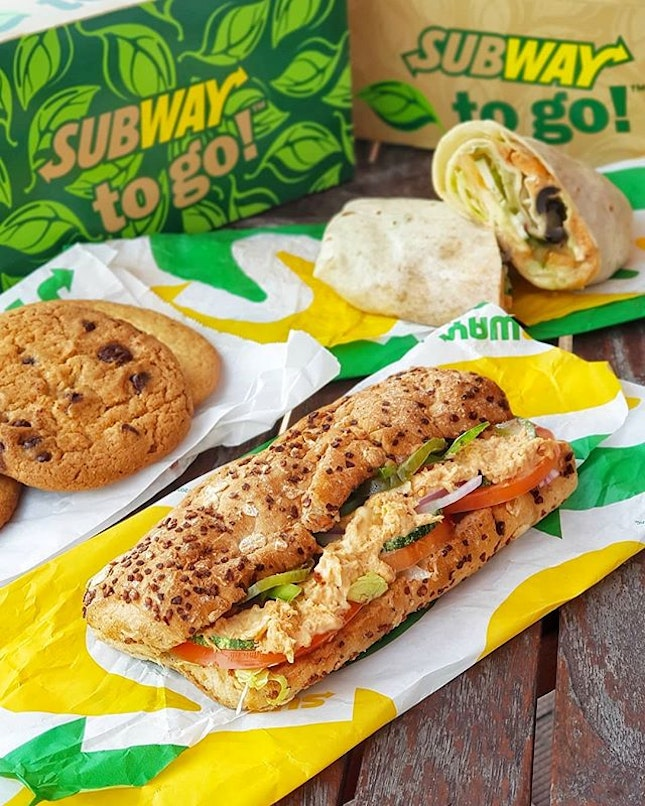 [NEW] 🐟 + 🌶 + 🍞Subway has introduced a new sandwich - Spicy Tangy Tuna.The blend of chili adds a nice spicy kick to the tuna.