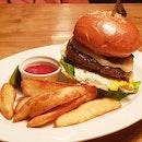 Masa premium burger!