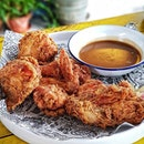 Favourite fried chicken in Singapore.