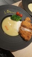 Spanish Pork Katsu set meal with Hokkaido White Curry