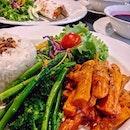 Fika Swedish Cafe and Bistro's Lunch Set, Korvstroganoff - $21 and Tunndrödsrulle - $22.20.