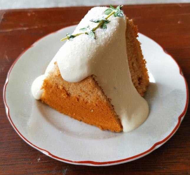 Jasmine Matcha Chiffon Cake