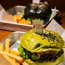 Everything Also Salted Egg (Matcha) VS Signature Black Tongue Burger Struggled to decide which one is better but I really can't choose between the two!