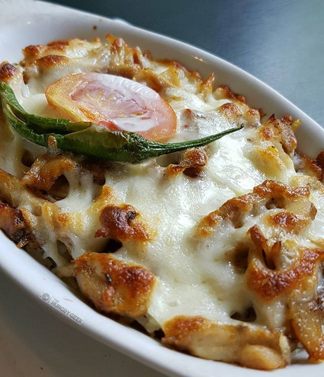 Chicken Baked Rice in a Turkish way Instead of white rice, butter rice is used here to boost a stronger flavour.