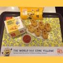 Bee Boo Bee Boo 🍌🍌🍌🍌🍌🍌 Minion Potatoes ($2) 🥔🥔🥔🥔🥔🥔 Minion Goreng Pisang ($1.20) 🍌🍌🍌🍌🍌🍌 #burpple