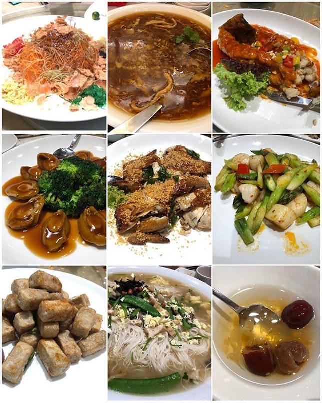 CNY Set Menu for 10pax ($578) 🥢 Yu Sheng - Yum!