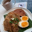 Beehoon Set with Kopi ($5.40)