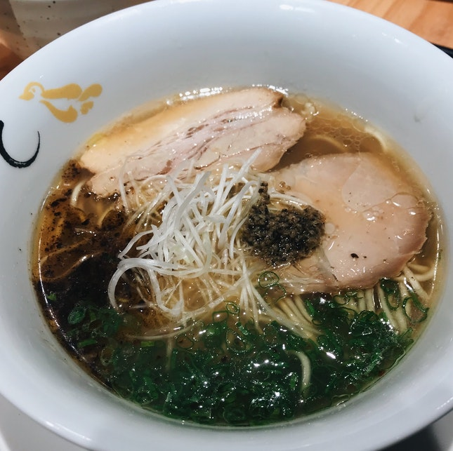Shoyu Hamaguri Soup Signature ($14.90)
