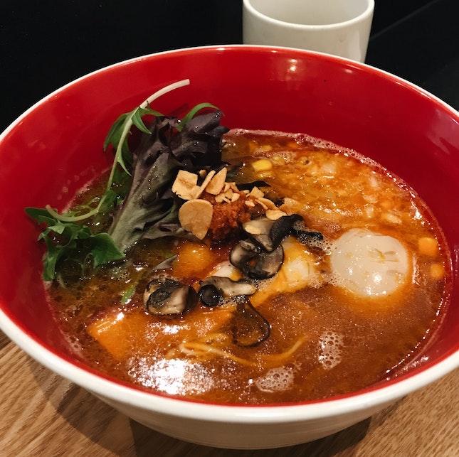 Spicy Tori Paitan Chicken Ramen