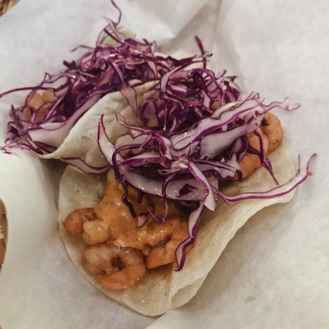 Tacos De Camaron (from $13 for two)