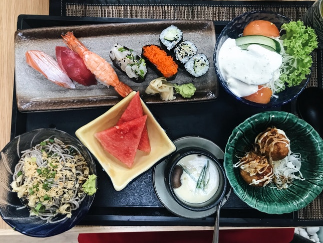 Nigiri Lunch Set (RM40)