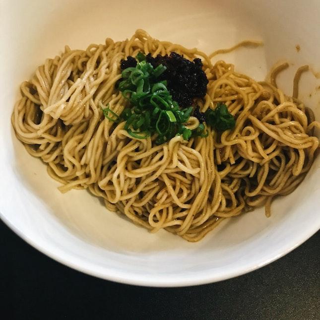 Ramen Noodles, XO Sauce (RM16)